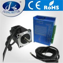 Juegos de servo motor NEMA23 / motor paso a paso NEMA23 con conductor y cables de 3 m