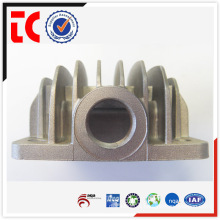 China OEM custom made aluminium air compressor cylinder cover die casting