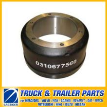 Anhängerteile der Bremstrommel 0310677560 für BPW