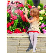 Pierre Cardin Celena OEM Wholesale Kids Girl Micro 40 Denier Tights Patterned Pantyhose Multi Color