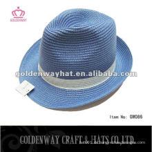 Schnell verkaufend !!! Mode Design Papier Stroh Fedora Hut