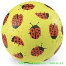 Yellow Color 8.5 Inch Rubber Playground Balls