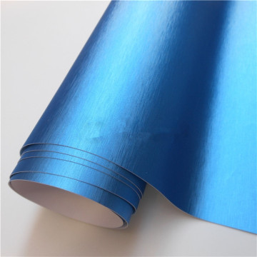 Brushed Aluminium Vinyl Flex Car Wrapping Film