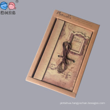 Factory Offer Kraft Paperclassical Art Notebooks with Box for Promotion
