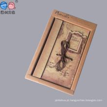 Oferta de fábrica de cadernos Kraft Paperclassical Art com caixa para promoção