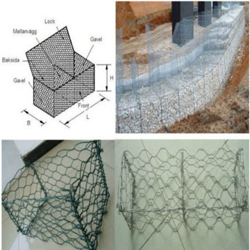 Heavy Galvanized Gabion Box