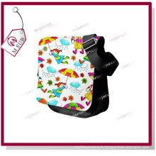 Petite taille toile sac à bandoulière avec Sublimation imprimé Logo