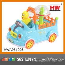 New Item plastic electrical animal toy car for kids