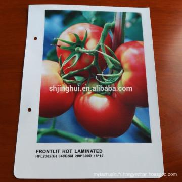 Tissu double face de haute qualité retrousser bannière d'affichage