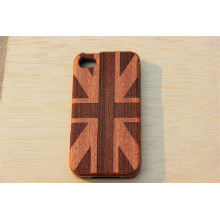 English Style Wood Cover with Engraving Your Logo with Manufacturer Factory Price