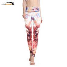 Custom Twelve Constellations Printed Fitness Women Yoga Pants