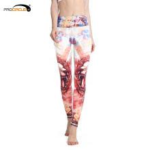 Personalizado doze constelações impresso mulheres de fitness yoga calças
