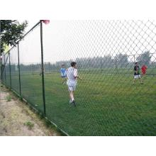 keamanan tinggi 8ft Galvanized Chain Link Fence