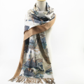 ready to ship winter warm knitted cashmere wool scarf brands
