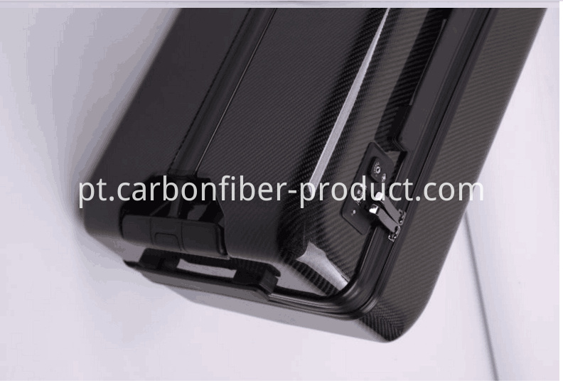 Carbon fiber luggage detail