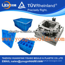 Hot sale Transport crate mould,injection plastic storage crate molds