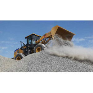 SEM658C Wheel Loaders Perfect Machine For Mineral Yard
