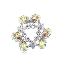 Cheap Price Jewelry Crystal Designed Brooch Pin for Lady