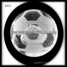 bonne qualité cristal cristal football football K057