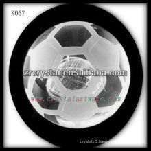 good quality crystal soccer crystal football K057