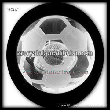 boa qualidade de futebol de cristal futebol de cristal K057