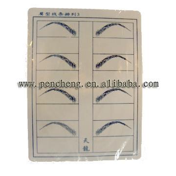 Practice Eyebrow Sheet S-TL3