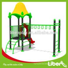 Gute Qualität Plastikhaus mit Affe Bar Hinterhof Spielplätze