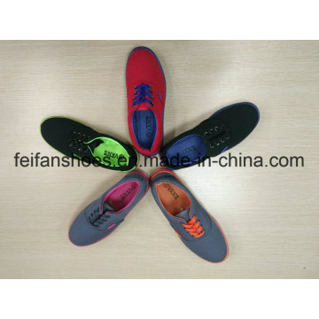 Unisex New Arrival Canvas Injection Shoes, Women Casual Slip-on Shoes