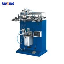 Impresora de pantalla cilíndrica neumática semiautomática TX-400S