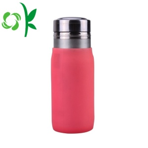 Custom OEM Silicone Durable Glass Water Bottle Sleeve