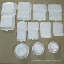 PS Foam Disposable Take Away Fast Food Box