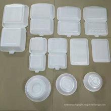 PS Foam desechable para llevar caja de comida rápida