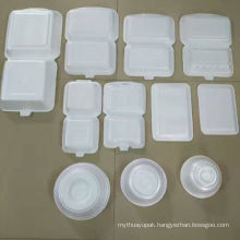 PS Foam Disposable Take Away Fast Food Box