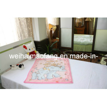 100 % polyester Baby Blanket (NMQ-LBB007)