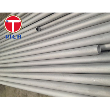Annealed Acar Stainless Steel Seamless Steel Tube untuk Boiler