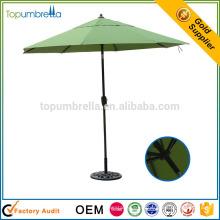 высокое качество большая кофейня алюминиевая рамка зонтик патио
