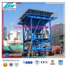 Puerto desembarcador de polvo \ cargador de granos desembargador de material a granel