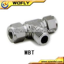 China Tubería de acero inoxidable Tubo de tubo macho Tubo / Tubería Accesorios hidráulicos