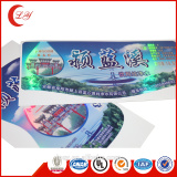 Custom CMYK printing vinyl pvc packaging label