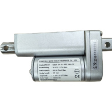 Telescopic push pull actuator stage linear
