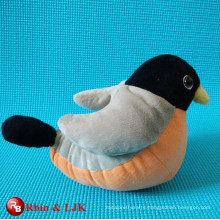 super soft plush sparrow