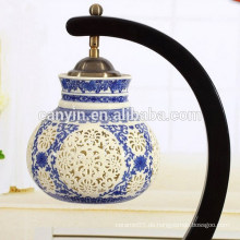 2015 Großhandel keramische antike Lampenschattierungen dekorative Tischlampen
