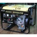 Diesel Generator Set, Electric Start Open Frame Type