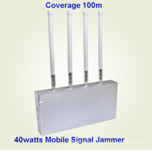 Mobile Phone Signal Jammer with Remote Controller