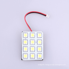 Dome led light , hotsale 12SMD car led light , car led light