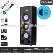 Cabinet speakers with bluetooth