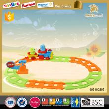 2015 Trens de brinquedo de Natal para crianças brinquedo de bateria trem de brinquedo ferroviário de brinquedo