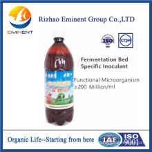 Extracto biológico biológico preparado para lecho de fermentación