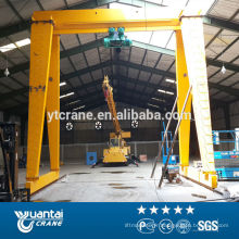 palan électrique à chaîne monofaisceau utilisé 25 tonnes grue portique