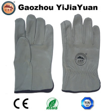 Natural Top Grain Leather Driving Gloves